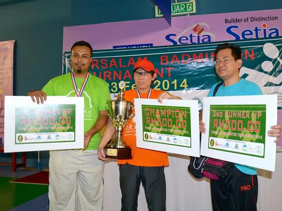 Persalam Badminton Tournament 2014